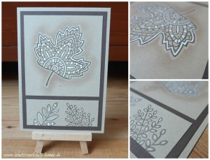 Lighthearted Leaves 2 stampin up