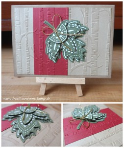 Lighthearted Leaves 3 stampin up