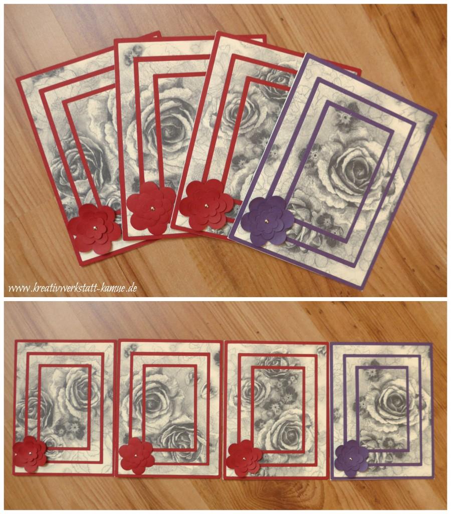 stampin up triple layer card zeitlos elegant