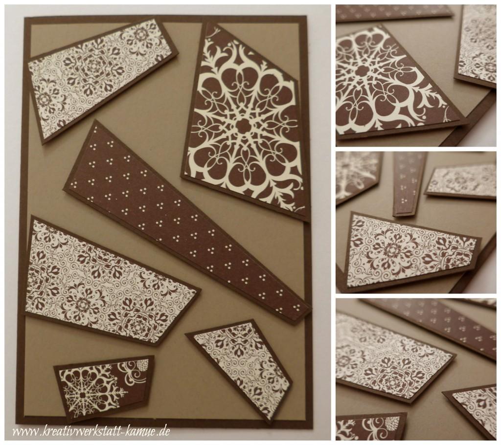 stampin up mosaik karte