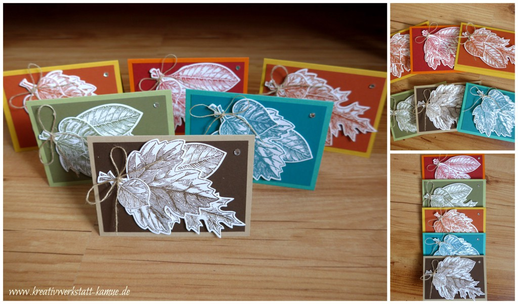 stampin up vintage leave5