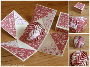 stampin up Explosionsbox pine cone3