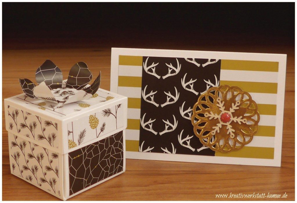stampin up Explosionsbox