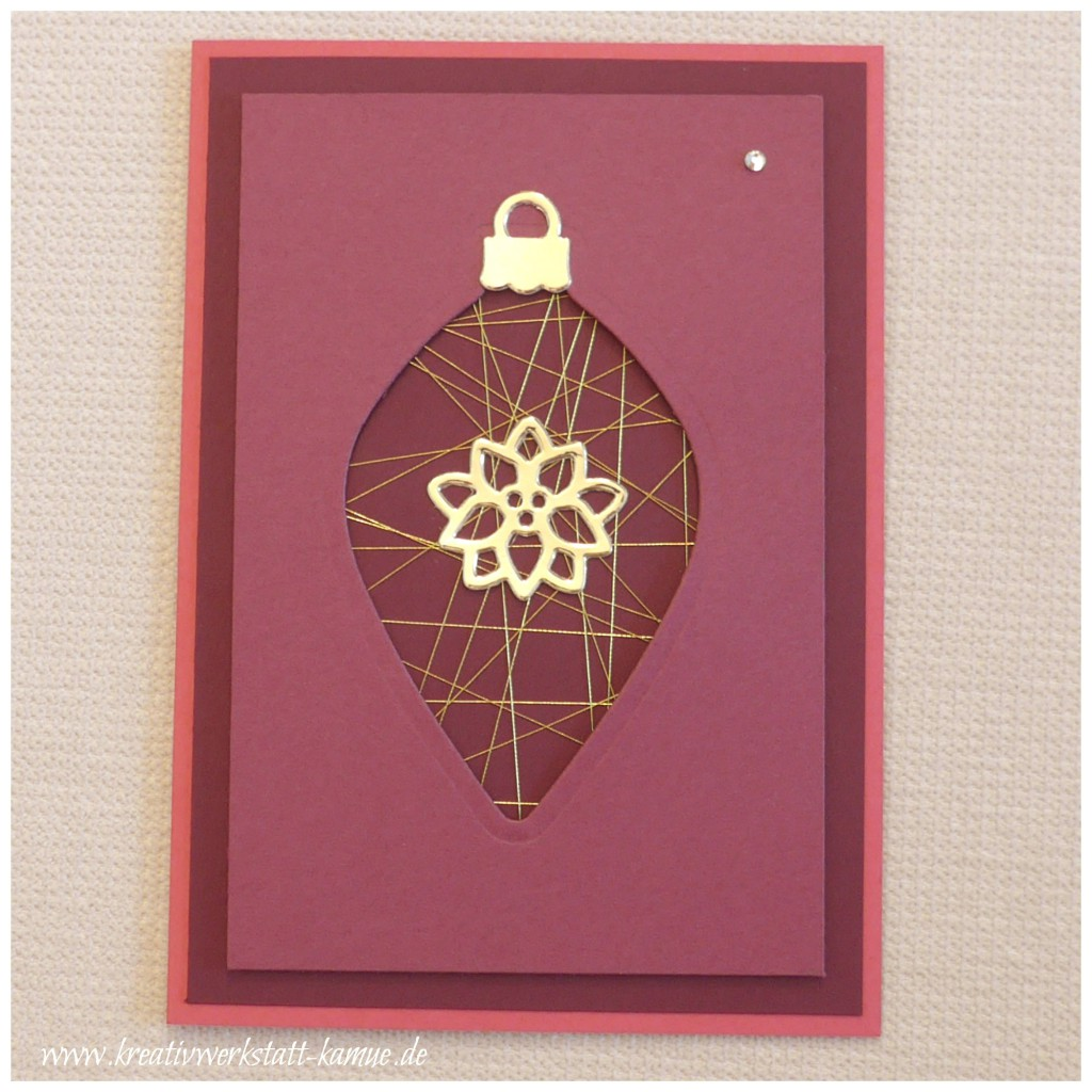 stampin up am christbaum