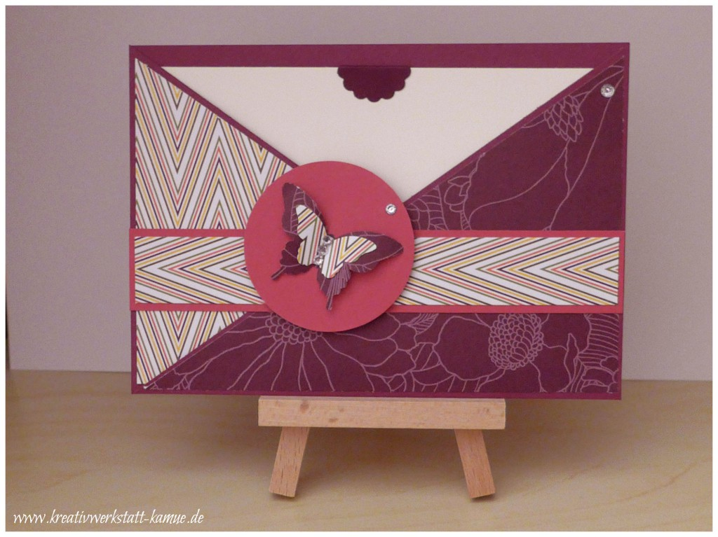 stampin up criss cross card2