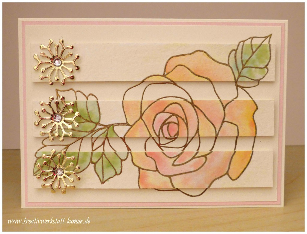 stampin up rosengzauber