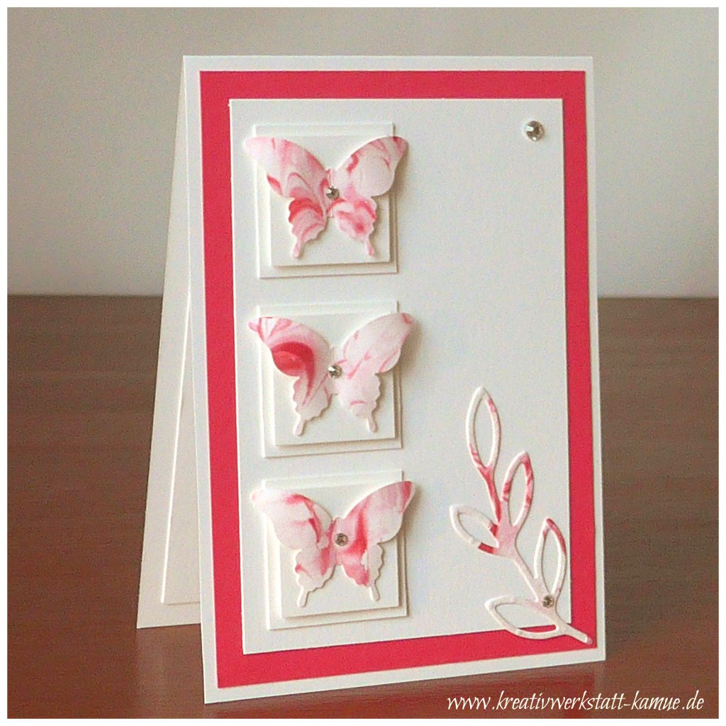 stampin up eleganter schmetterling