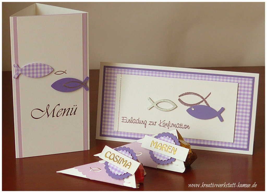 stampin up Konfirmation6