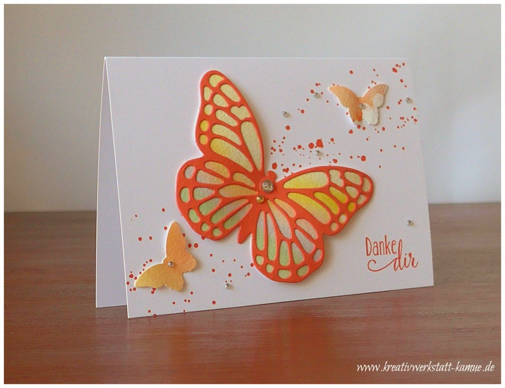 stampin up schmetterling