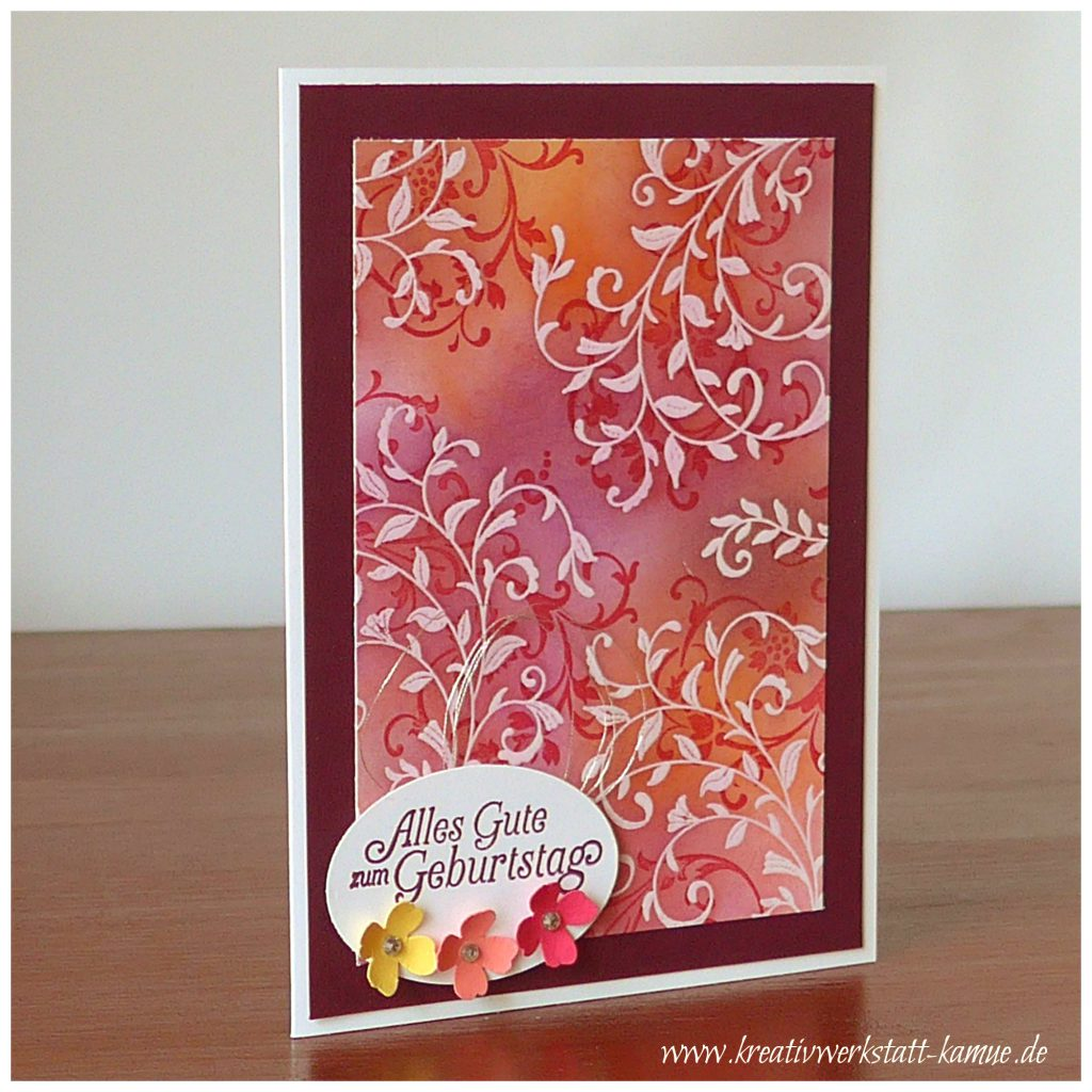 stampin up embossing resist4