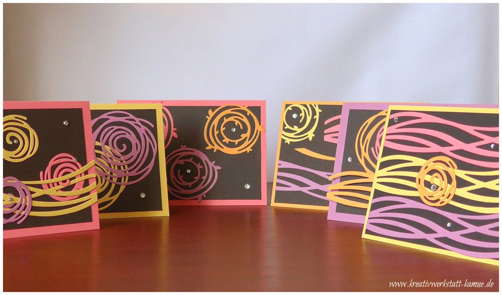 stampin up swirly scribbles