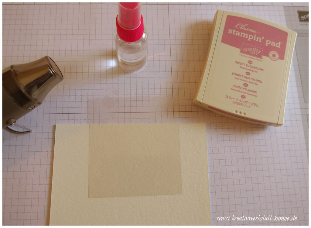 stampin up vintage look