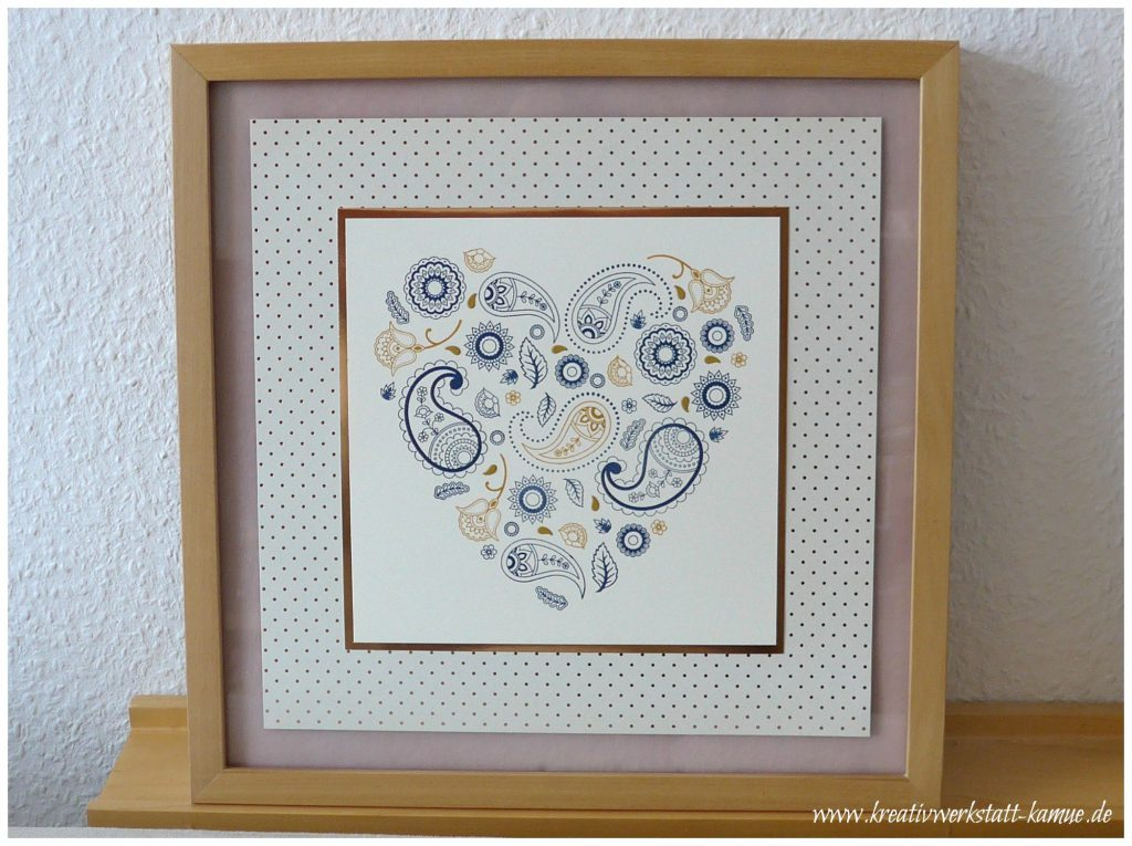 stampin up paisleys posies