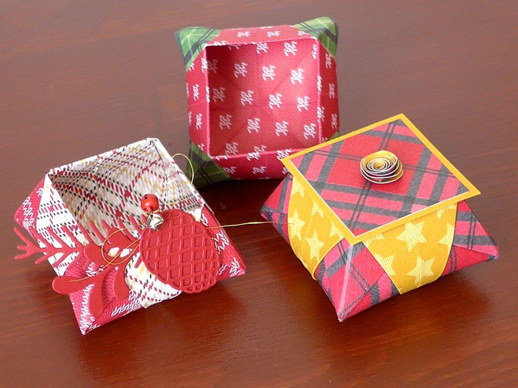 stampin up gemuetliche weihnachten origami star box