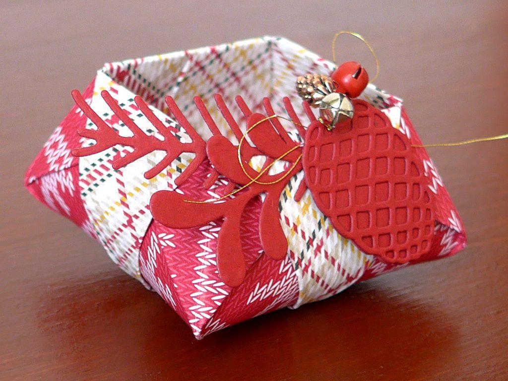 stampin up gemuetliche weihnachten origami star box2