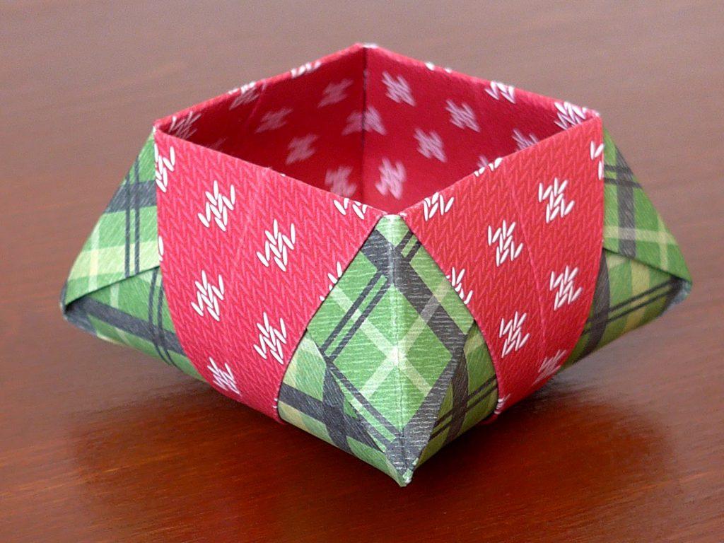 stampin up gemuetliche weihnachten origami star box3