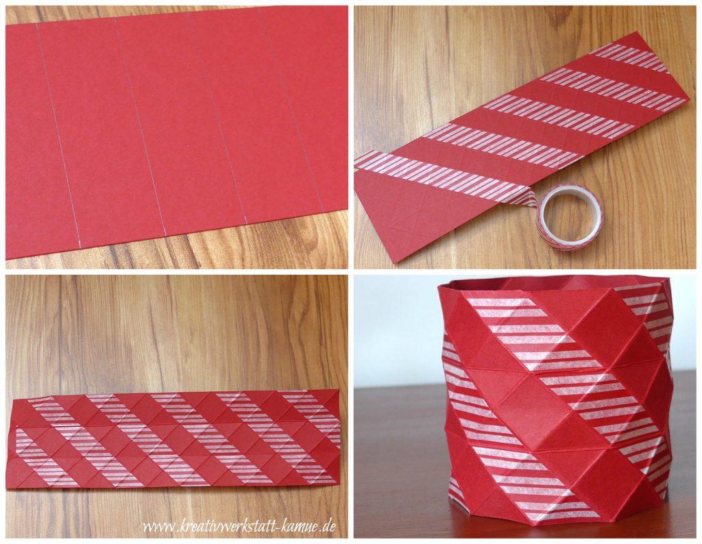 stampin up origami vase2