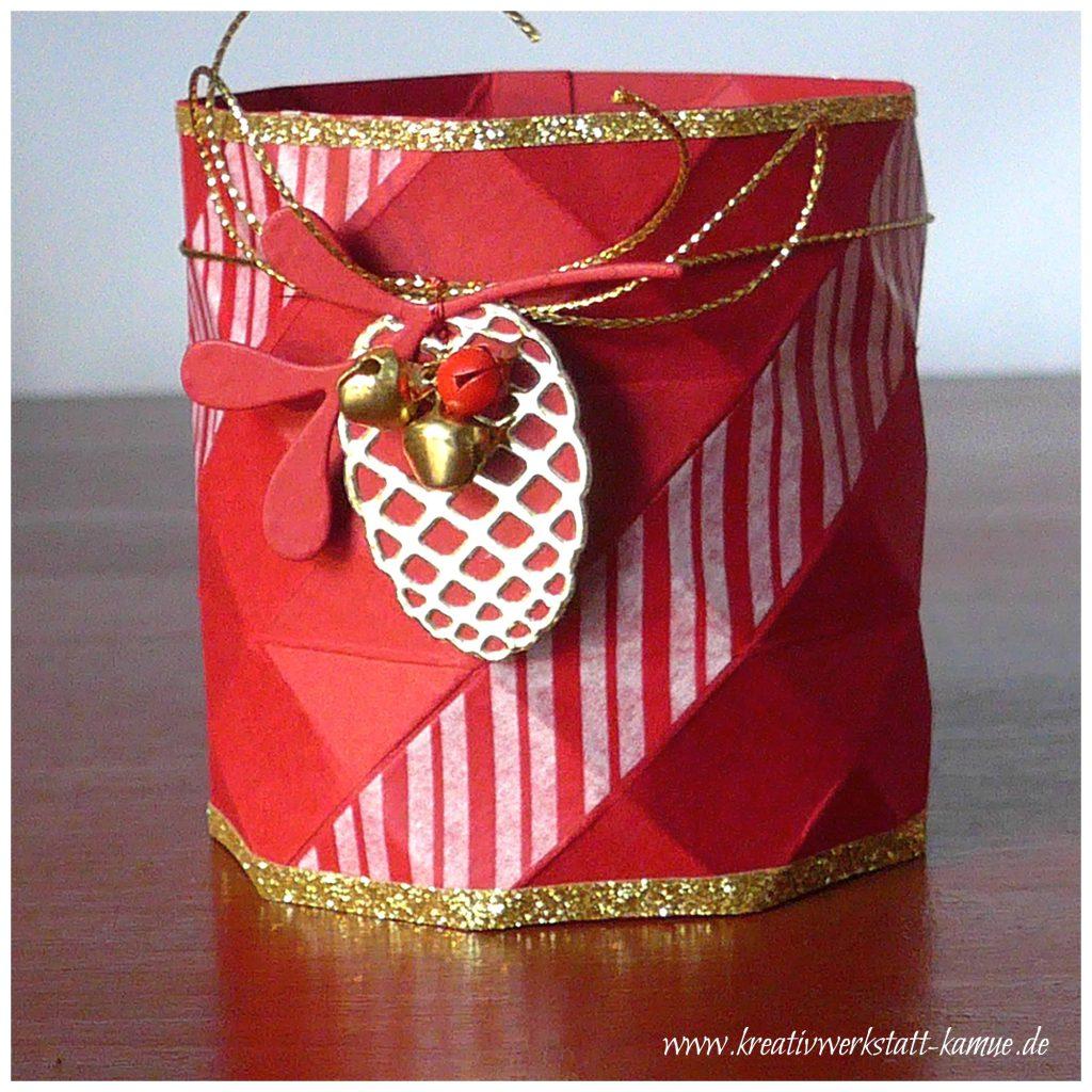 stampin up origami vase3