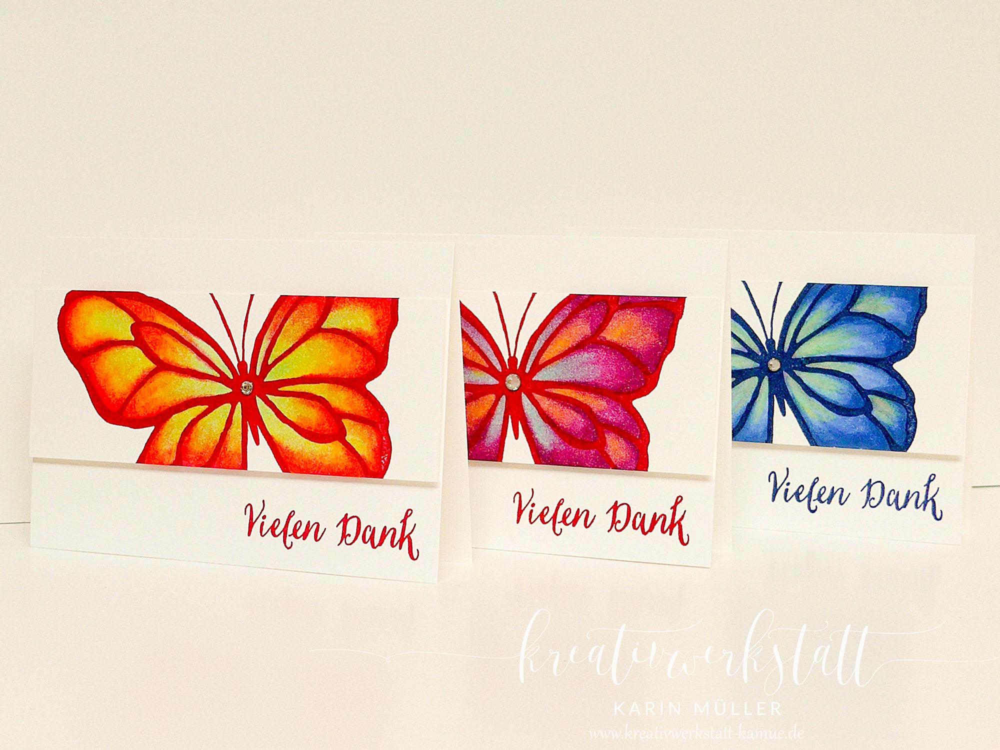 Schmetterlinge – Kreativwerkstatt